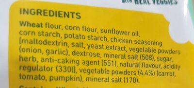 twirls - Ingredients