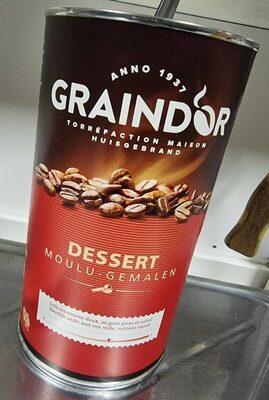 Graind'or café moulu dessert - Prodotto - fr