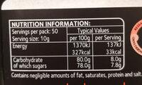 Manuka Honey UMF®5+ - Voedingswaarden - en