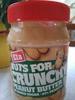 Nuts for crunchy peanut butter - Produit