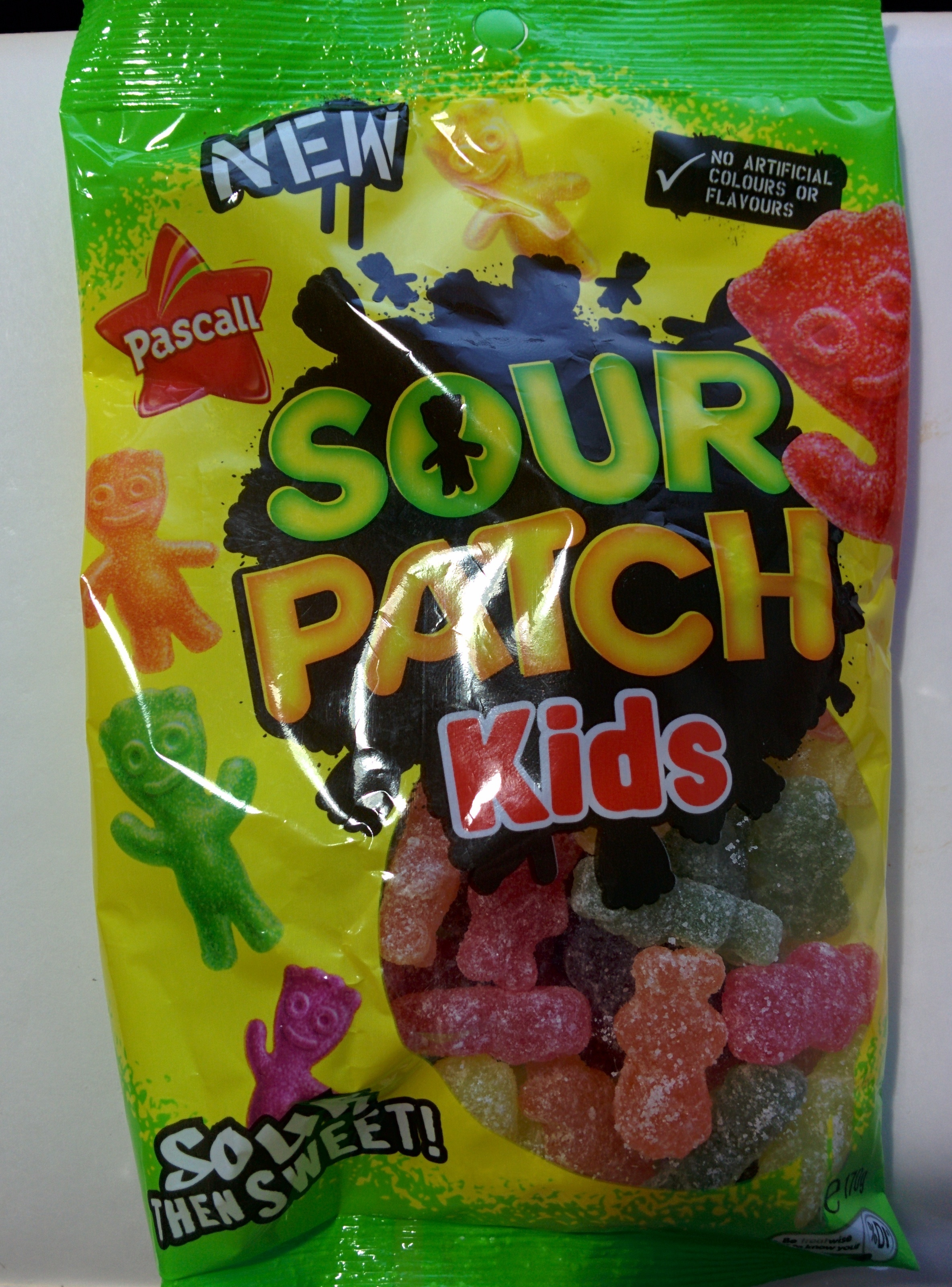 sour patch kids   pascall   170 g
