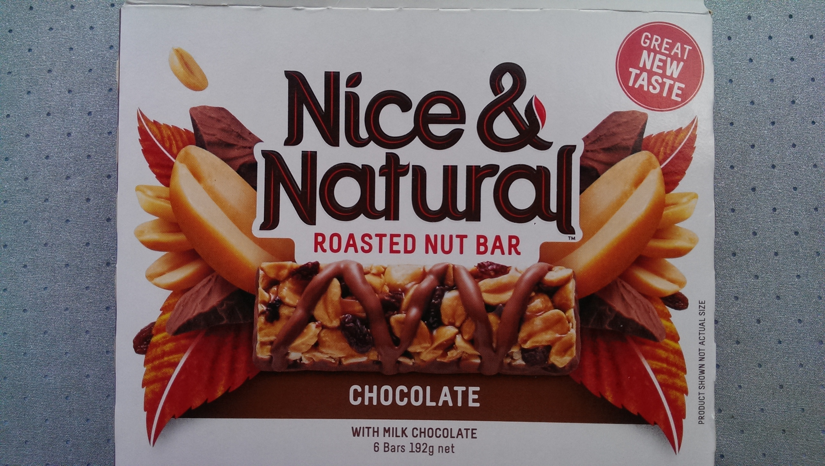 Nice & Natural Rosted Nut Bar