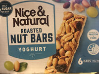 Roasted Nut Bars Yoghurt - Product - en