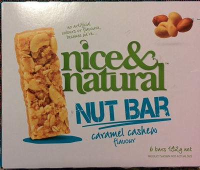 Nut Bar - Caramel Cashew Flavour - Product