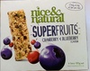Superfruits - Cranberry & Blueberry - Produit