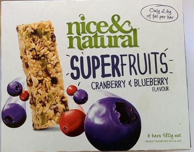 Superfruits - Cranberry & Blueberry - Product - en