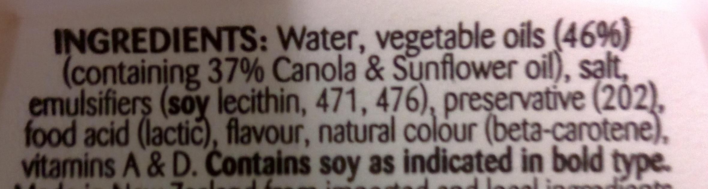 MeadowLea Lite - Ingrediënten - en