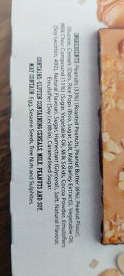 Tasti Nut Butter Bars - Ingrediënten