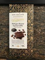 Wellington Roasted Supreme Coffee Dark Chocolate 50% cocoa - Product