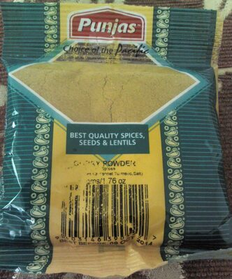 Punjas Brand Curry Powder - Product
