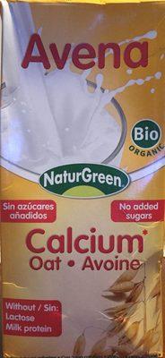Bebida de avena calcium - Producto - fr