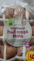 Woolworth hot cross buns - Product - en