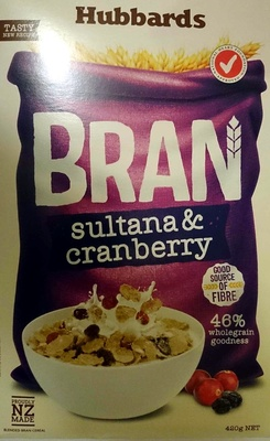 Bran Sultana & Cranberry - Product