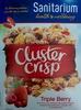 Cluster Crisp - Triple Berry - Produit
