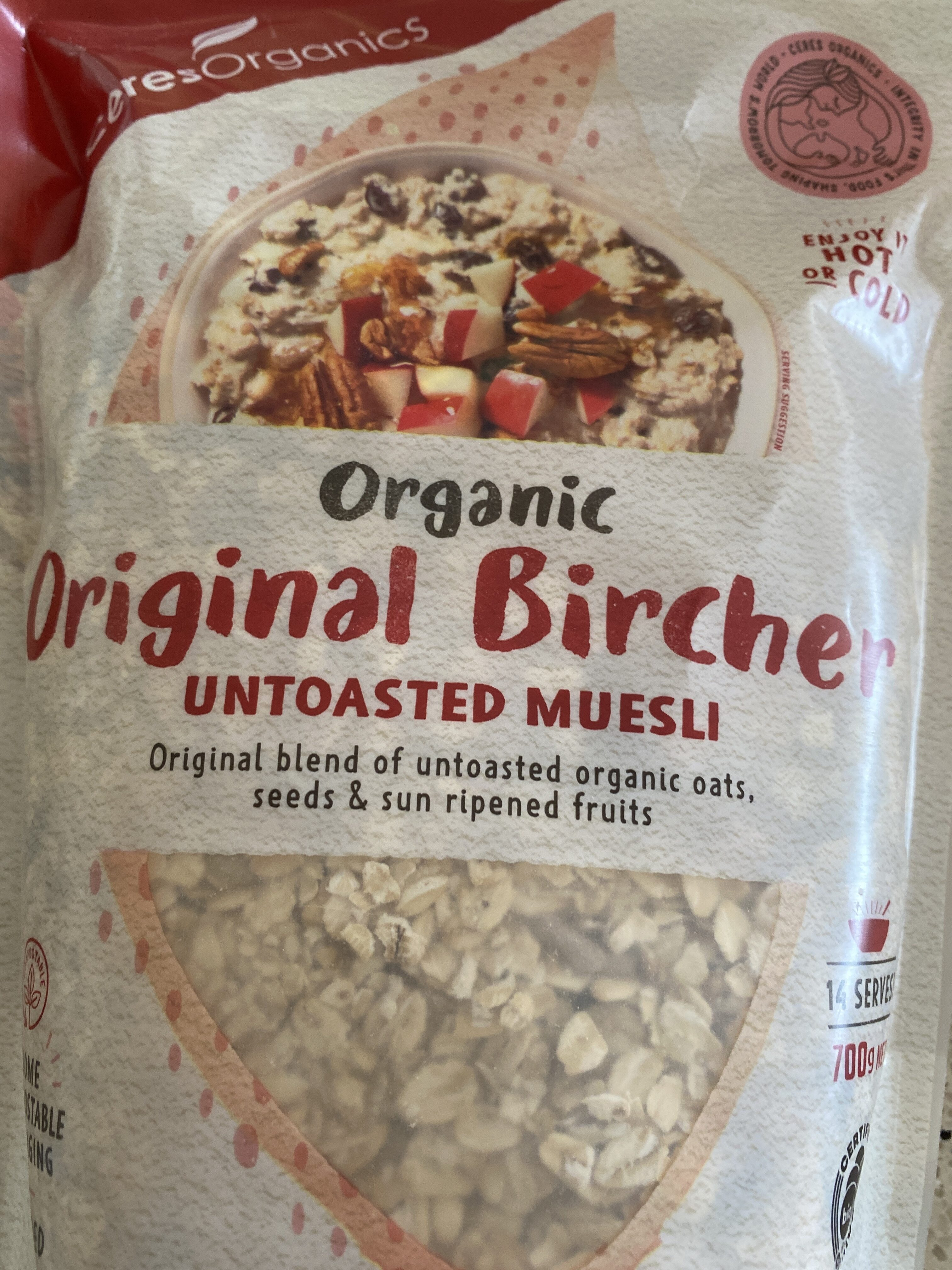 Untosted Muesli - Product