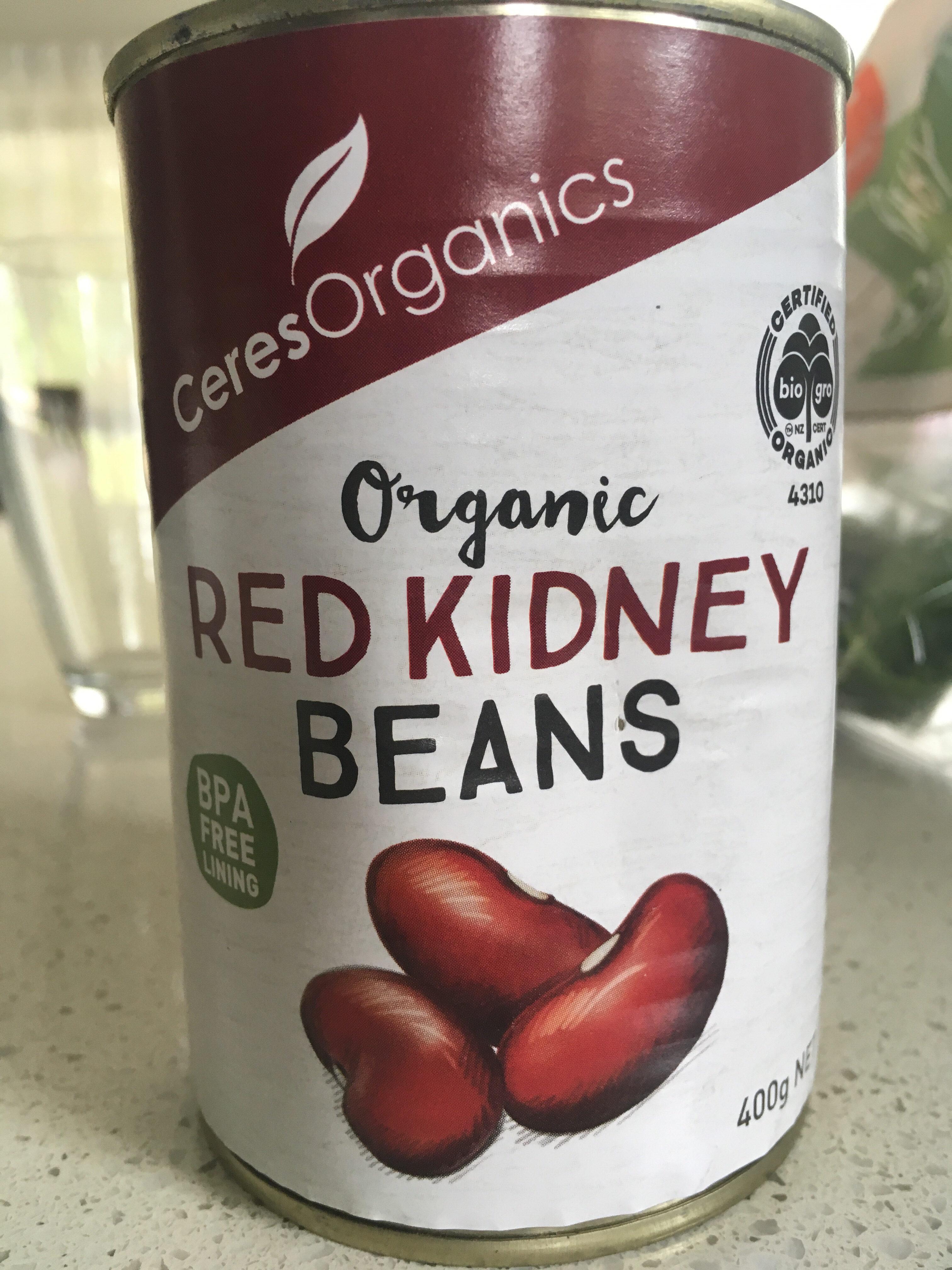 Organic Red Kidney Beans - Product - en