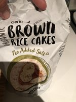 Brown Rice Cakes - Product