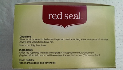 Red Seal Green Tea - Ingrediënten