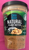 Mother Earth Chia Seed Natural Peanut Butter - Product - fr