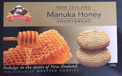 calorie Manuka Honey Shortbread