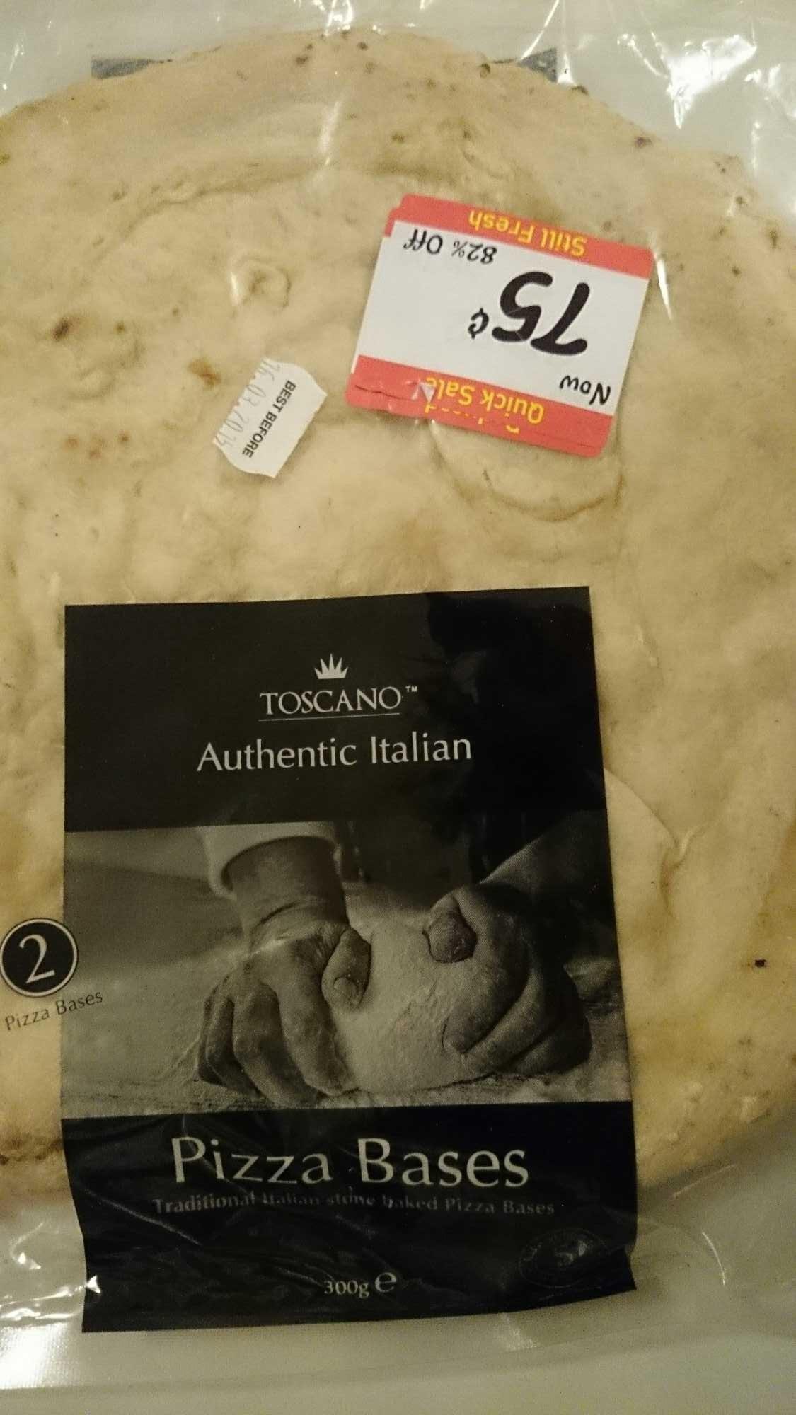 Authentic Italian Pizza Bases - Product - en