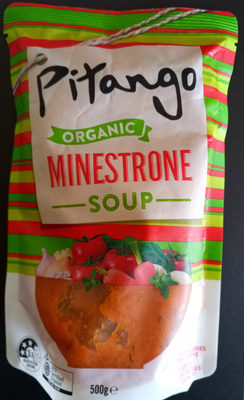 Organic minestrone soup - Product - en