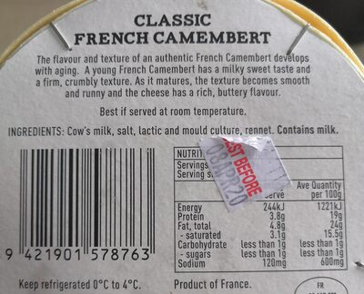 Classic French Camembert - 3