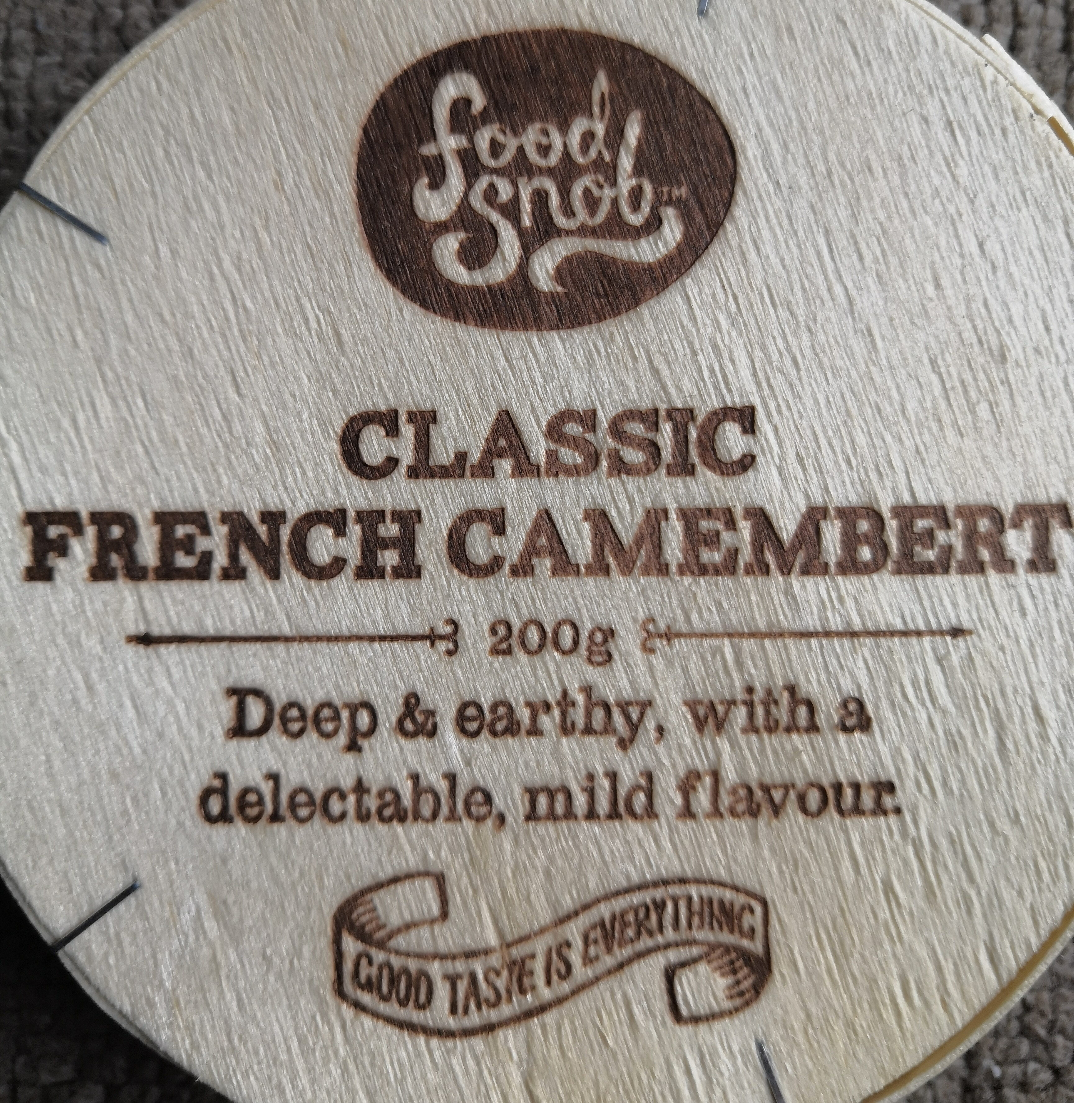 Classic French Camembert - Produit - en