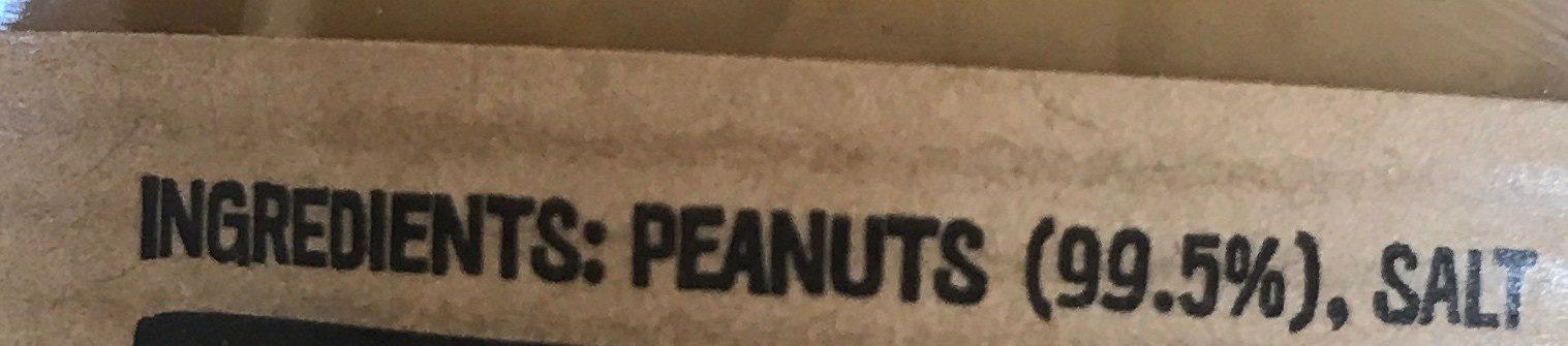 Crunchy Peanut Butter - Ingrediënten