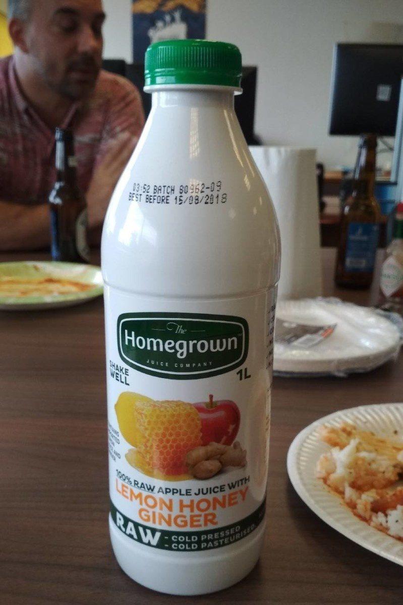Lemon Honey Ginger - Produit - fr