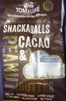 Snackaballs cacao & peanut butter - Product