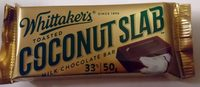 Toasted Coconut Slab Milk Chocolate Bar - Product