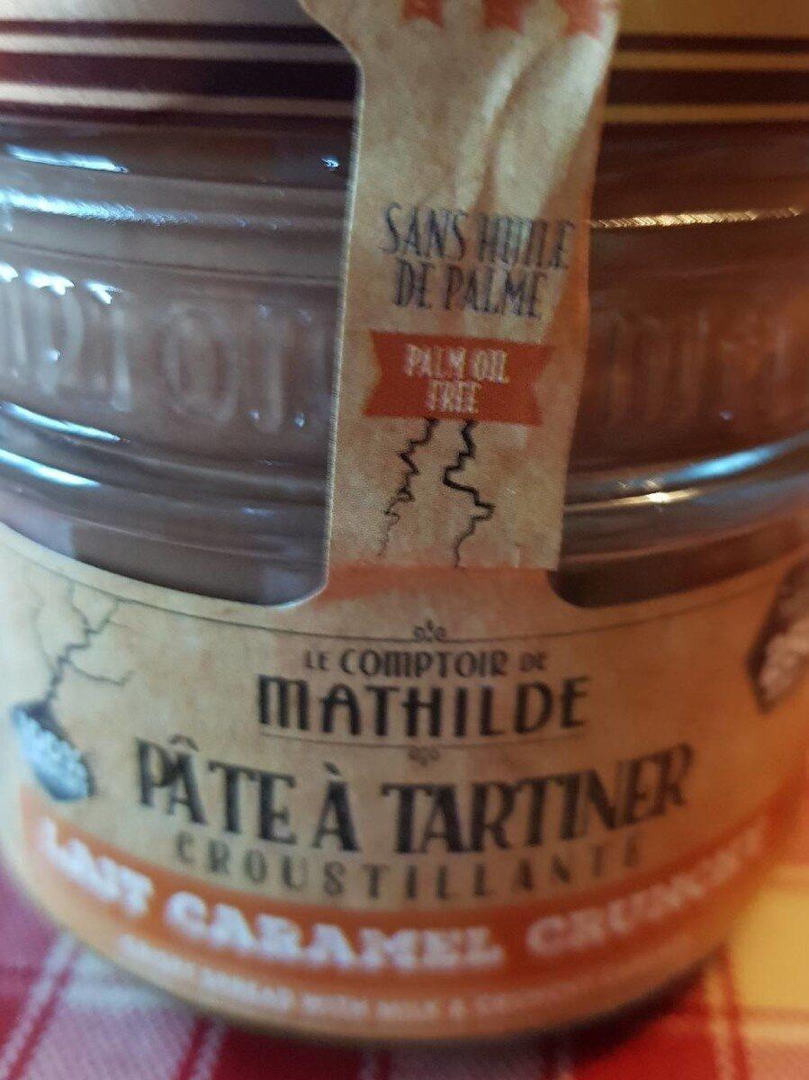 Pâte à  tartiner  croustillante lait caramel crunchy - Voedingswaarden - fr