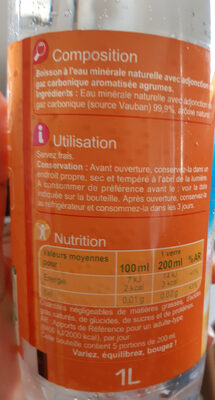 les aromatisées - Ingredients - fr