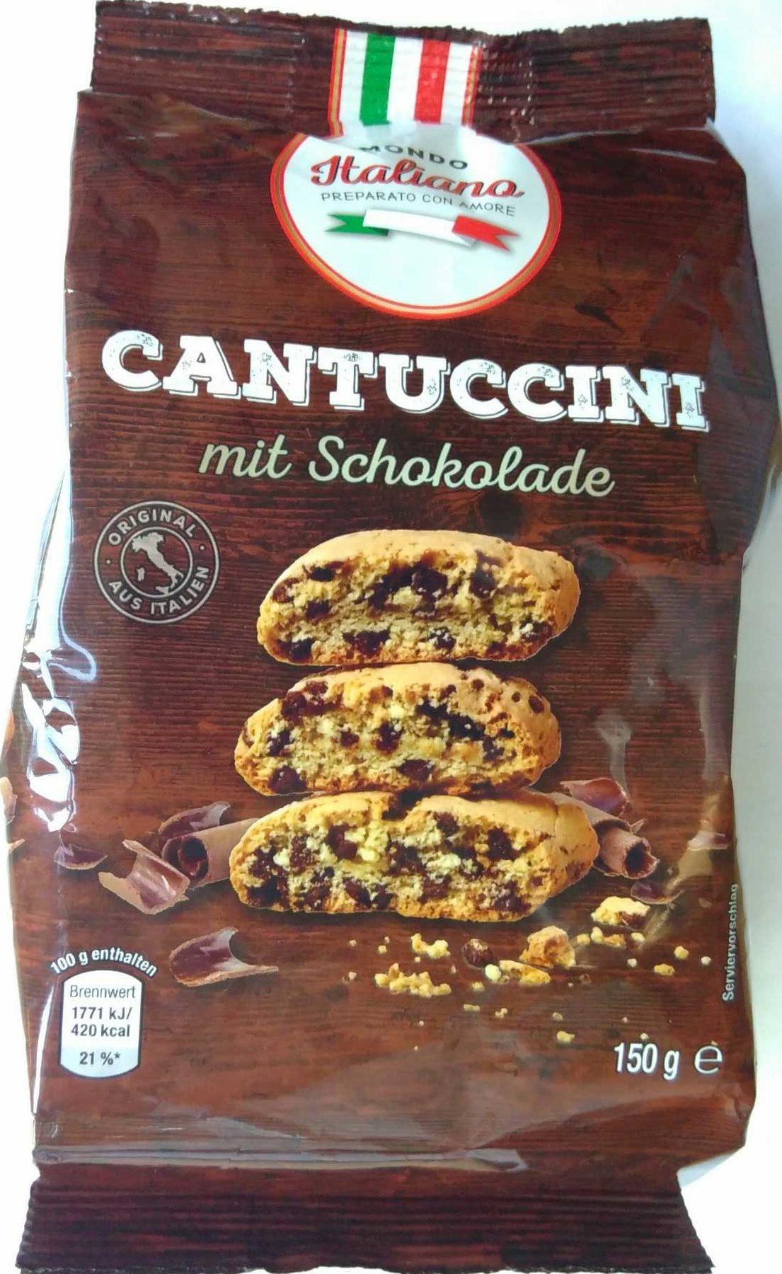 Cantuccini mit Schokolade - Produkt