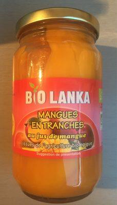 Mangues en Tranches au Jus de Mangues - Produit