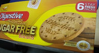 Digestive Sugar Free Biscuits - Product