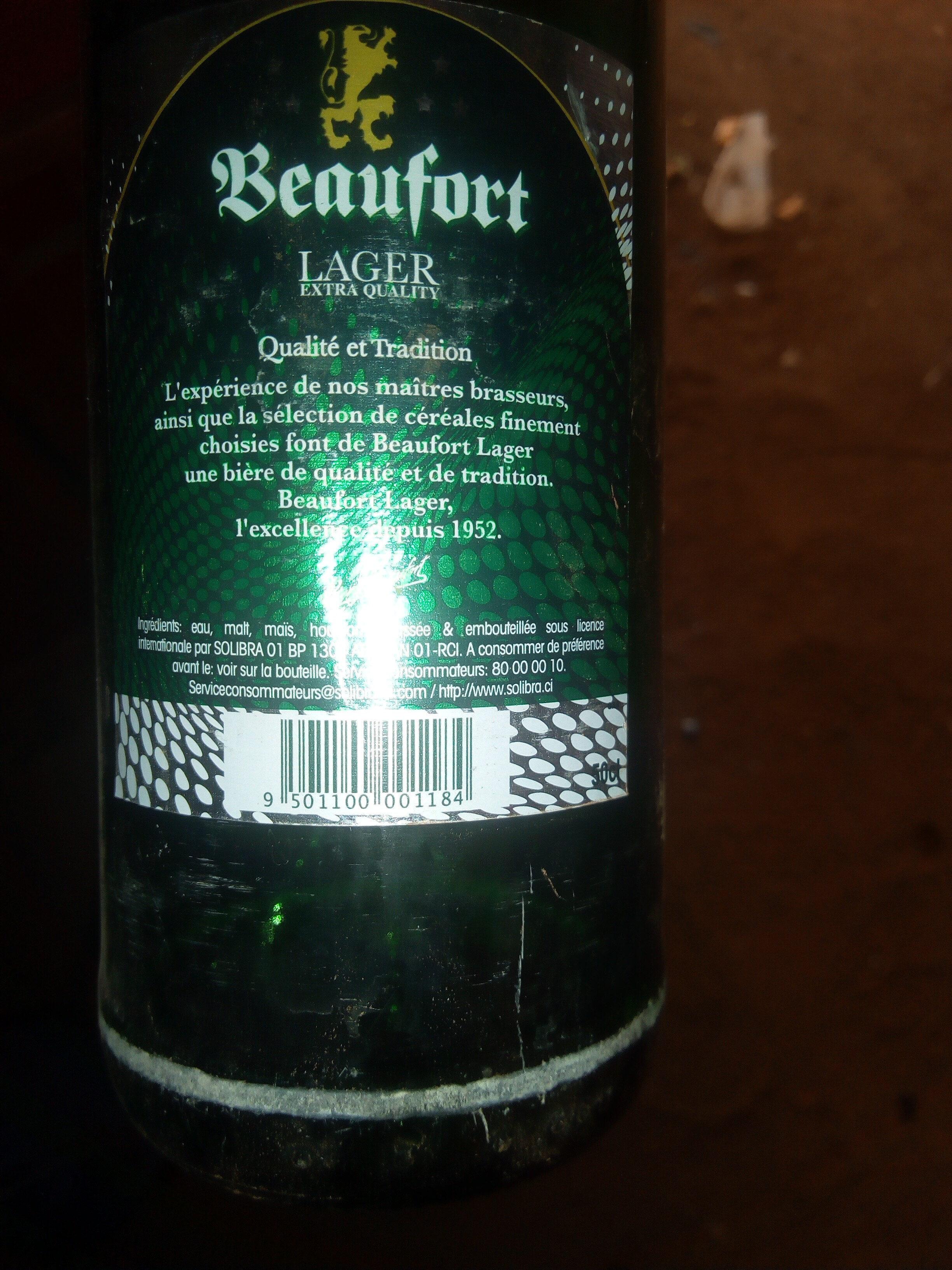 Beaufort - Ingrédients - fr
