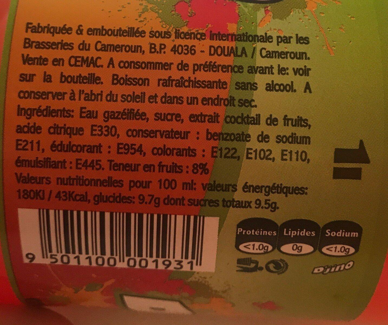 D'jino - Informations nutritionnelles - fr