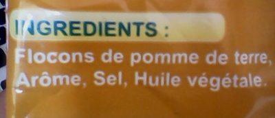 YOUPI Frites - Ingredients
