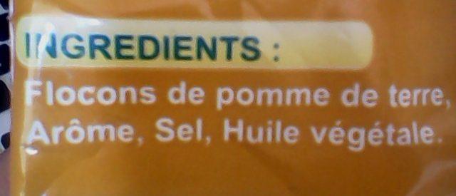 YOUPI Frites - Ingrédients - fr