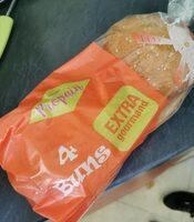 4 buns extra gourmand - Produit - fr