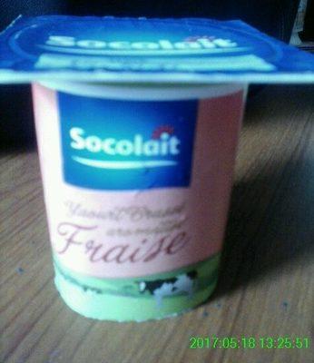 Yaourt Brassé Fraise - Produit