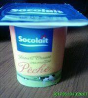 Yaourt Brassé Pêche - Produit - fr