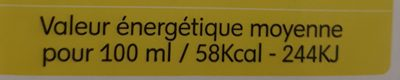 Pressea Ananas - Informations nutritionnelles - fr