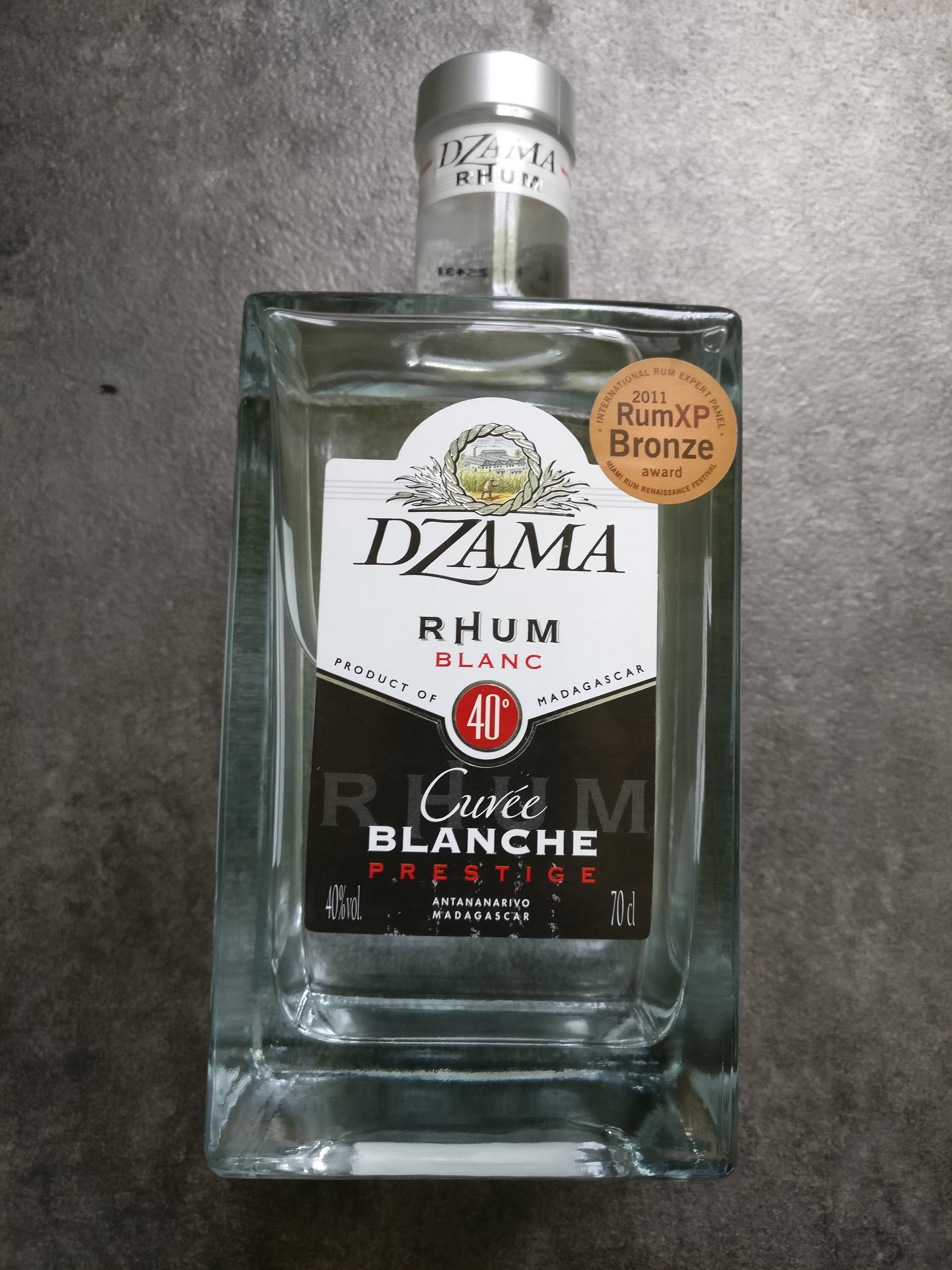 Dzama prestige cuvée blanche - Produit - fr
