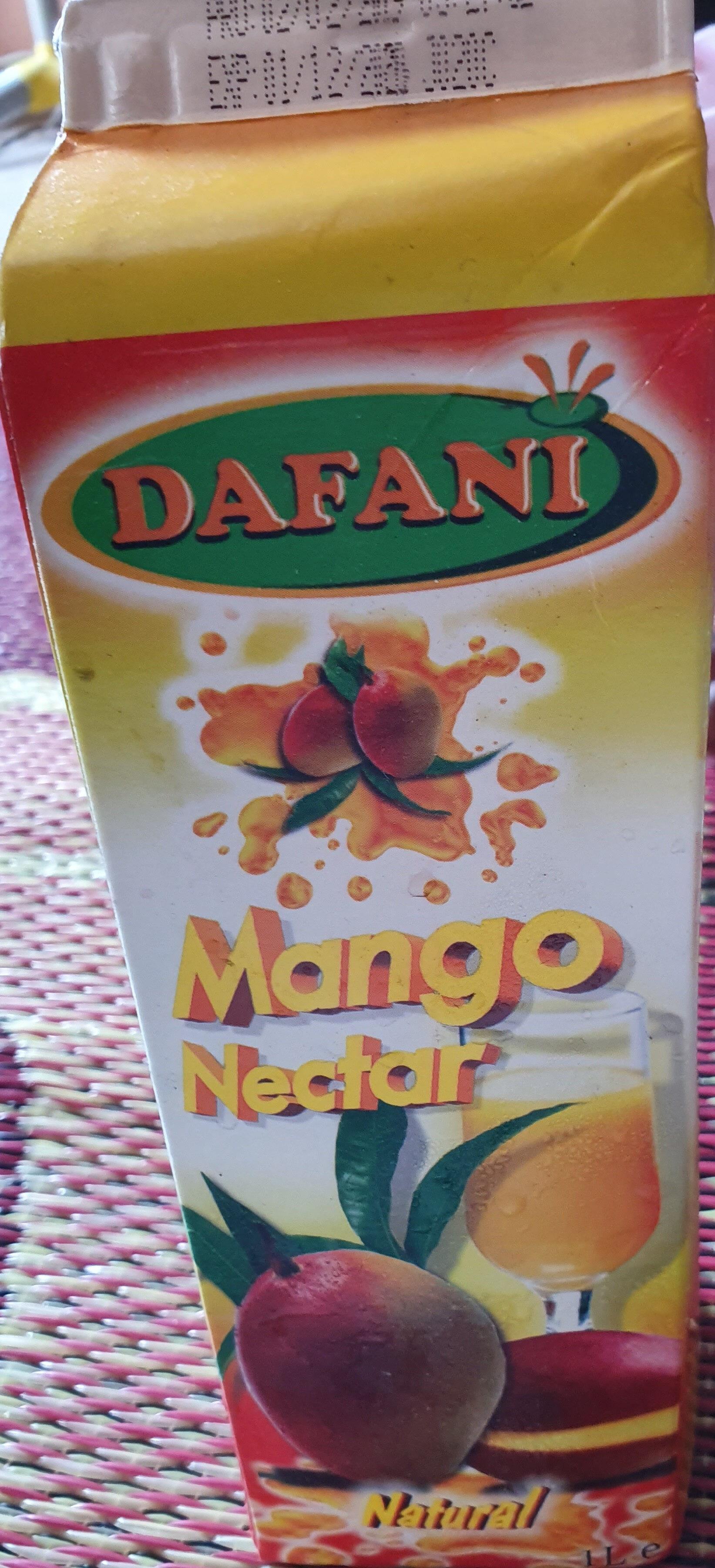 Nectar de Mangue - Ingredients - fr
