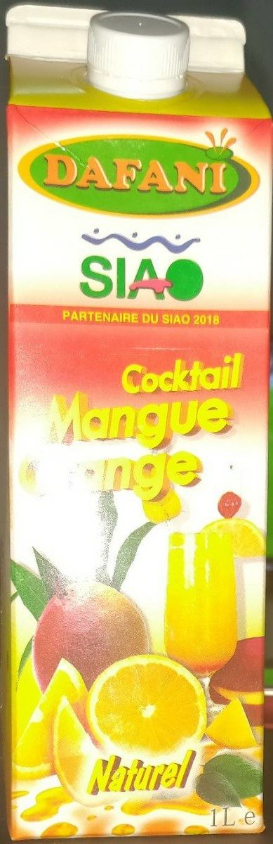 Dafani Cocktail Mangue Orange - Product - fr
