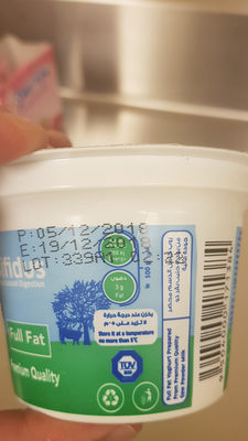 Rawa Fresh yoghurt - Nutrition facts - en