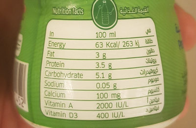 Rawa - Nutrition facts